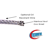 bearing sensor oil resistant wire