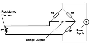 on three wire temperature sensor diagram
