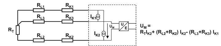 3 wire rtd circuit