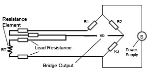 4 Wire RTD Temperature Sensor, RTD, Resistance Temperature ...  Wire Rtd Wiring Diagram on
